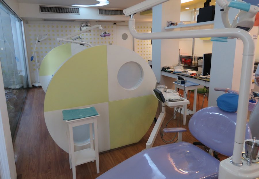 Dentist office at the Dental 4 You Clinic
