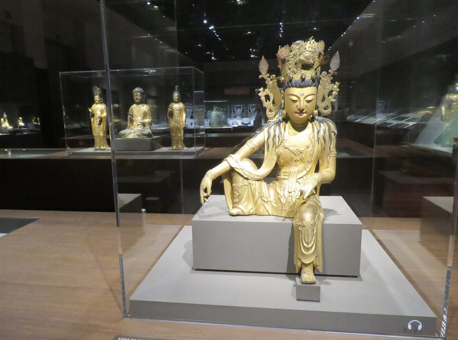 Gold Buddha, National Museum of Korea
