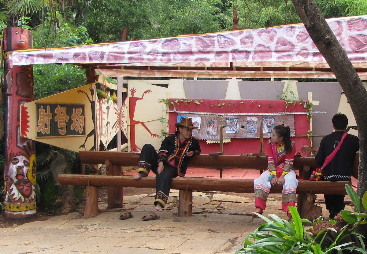 People in Traditional Yunan Cloths