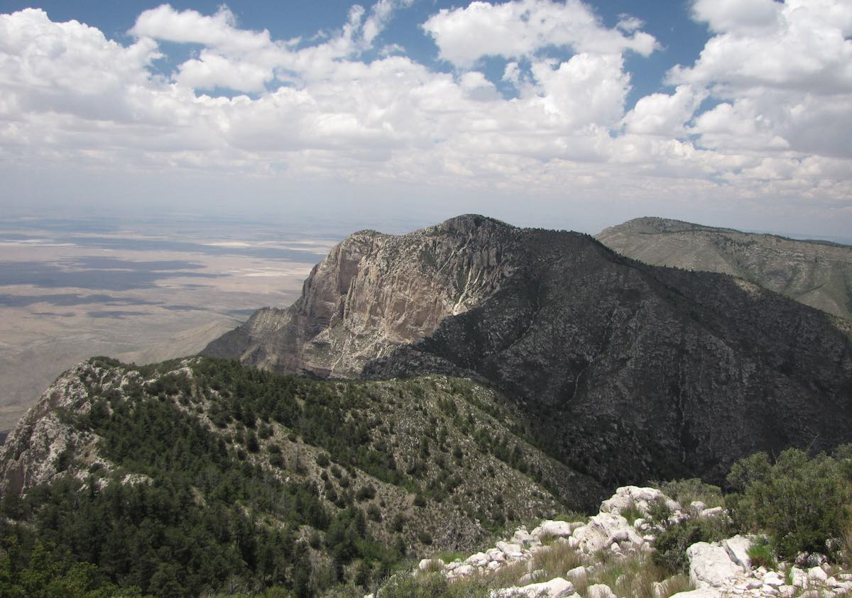 Guadalupe Mountains National Park vista