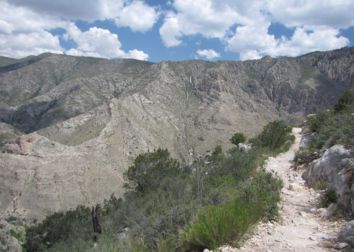 Guadalupe Peak Trail, Guadalupe Mountains National Park