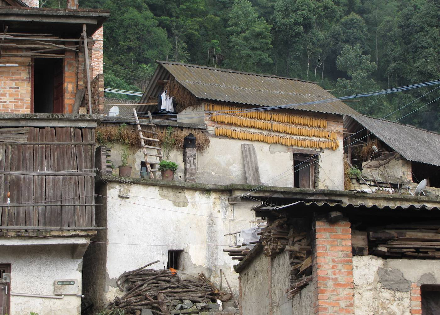 Houses, Yunnan, China