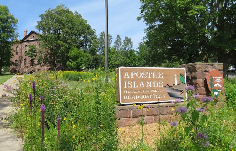 photo of Apostle Islands National Park visitors center