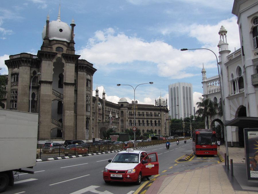 Railway Administration Building in Kuala Lumpur