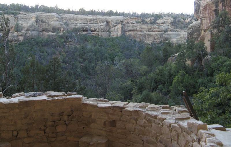 View from Cliff Palace