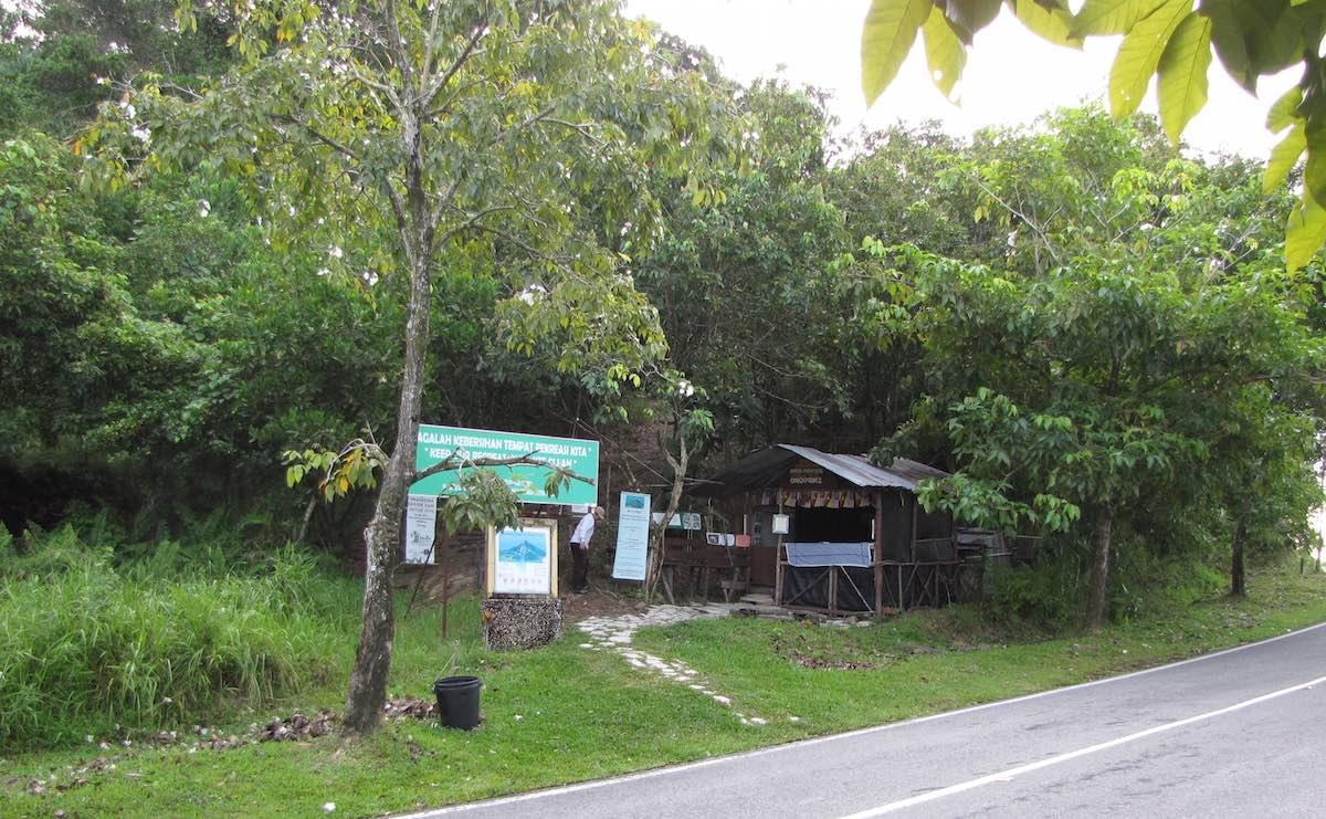 Mount Santubong trailhead
